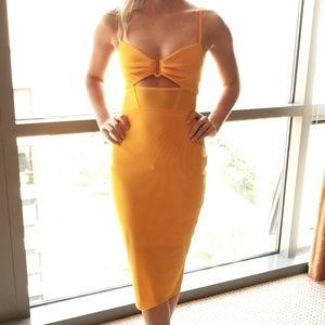 Tangerine Bec & Bridge Bodycon Dress - Size 2